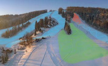 Stacja narciarska Gromadzyń w Ustrzykach Dolnych