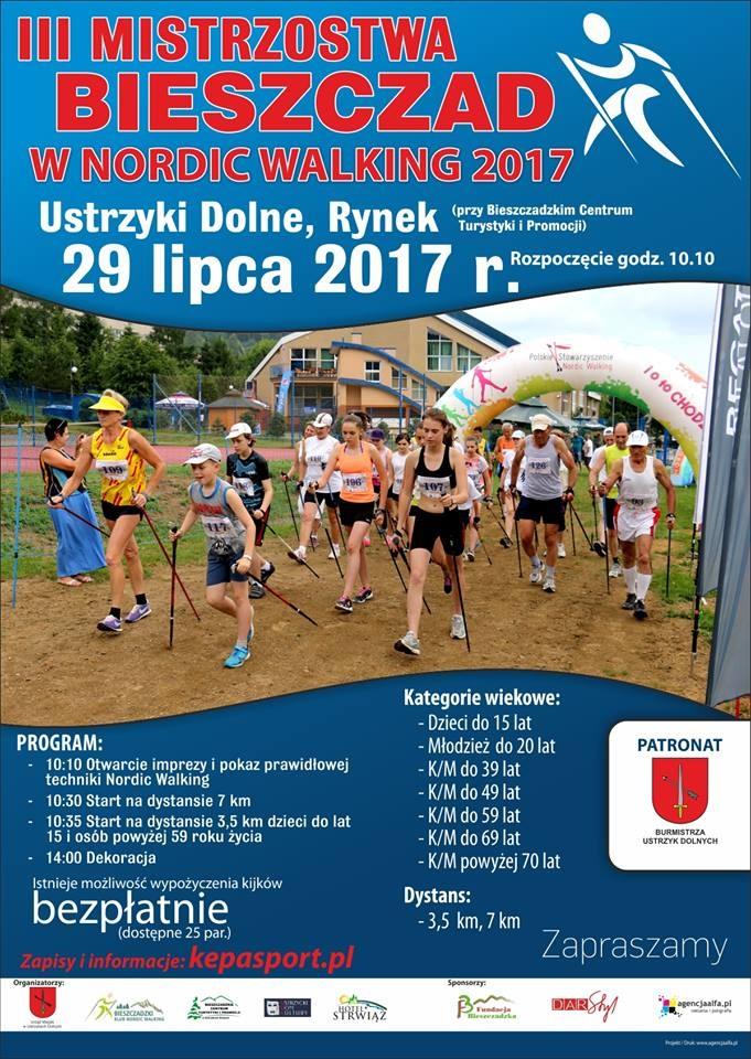 Międzynarodowe Mistrzostwa Bieszczad w Nordic Walking