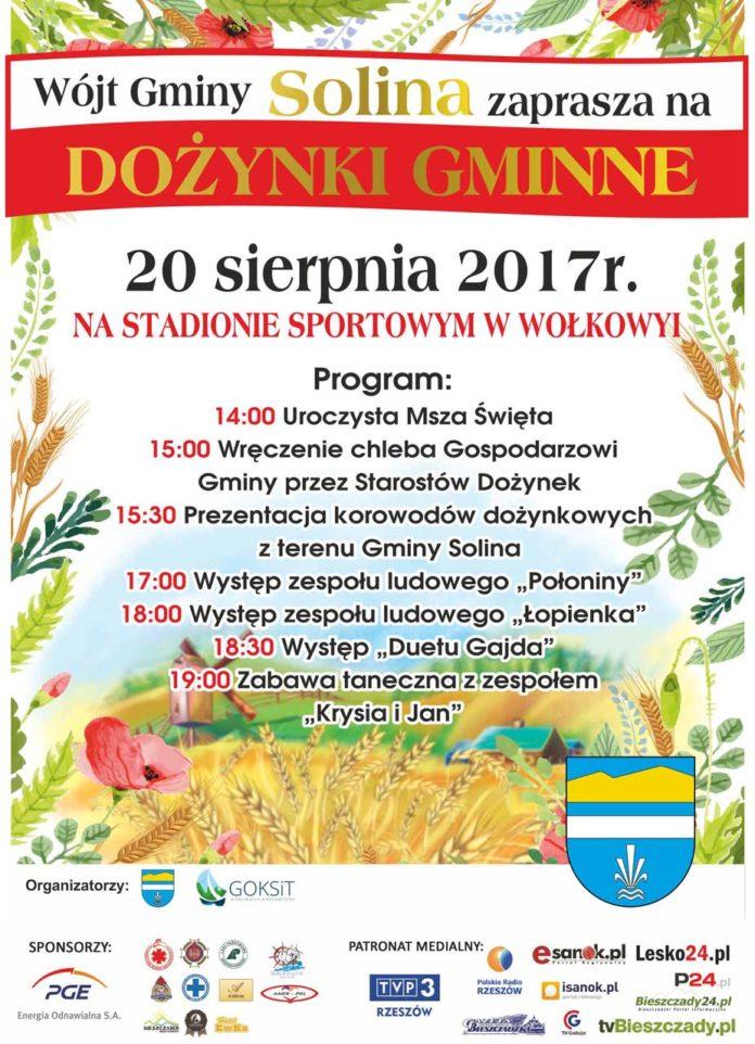 Solina - Dożynki Gminne 2017