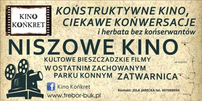 "Kino ""Końkret"" w Zatwarnicy"