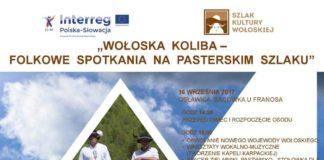 Wołoska Koliba – Folkowe spotkania na pasterskim szlaku