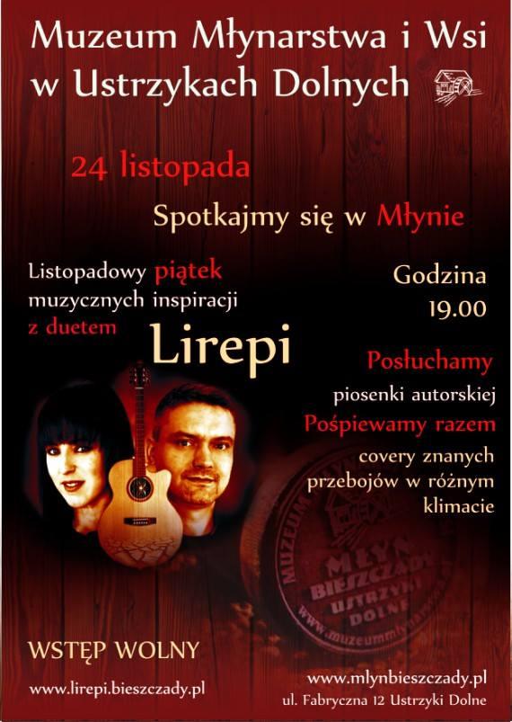 Listopadowy piątek muzyczny w Młynie