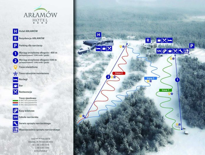 Stoki narciarskie w Arłamowie