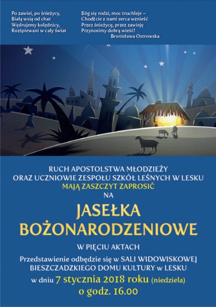 Jasełka Bożonarodzeniowe w Lesku