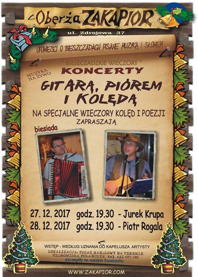 Wieczory kolęd i poezji w Polańczyku