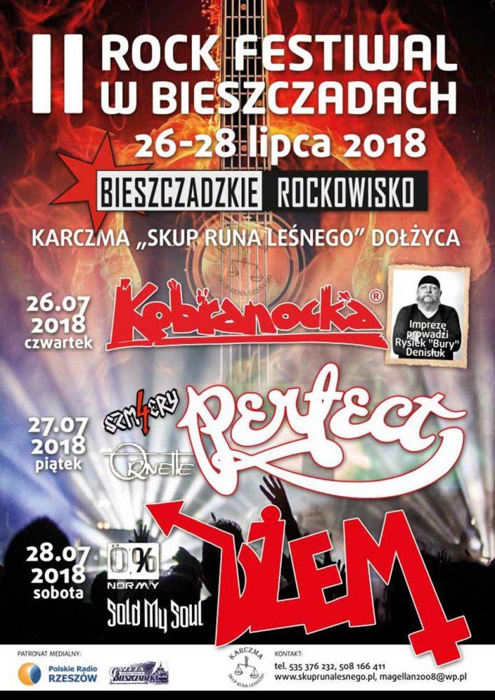 II Rock Festiwal w Bieszczadach