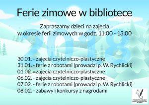 Ferie w Bibliotece - Lesko