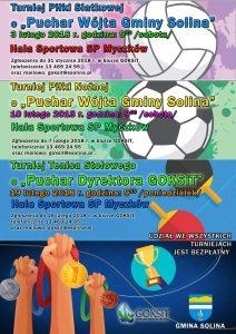 Zajęcia sportowe w Gminie Solina