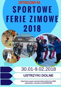 Ferie na sportowo - Ustrzyki Dolne / www.sport.ustrzyki-dolne.pl