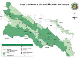 Jak zwiedzać Bieszczadzki Park Narodowy zimą