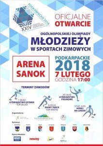 XXIV OOM w Sportach Zimowych - Podkarpackie 2018