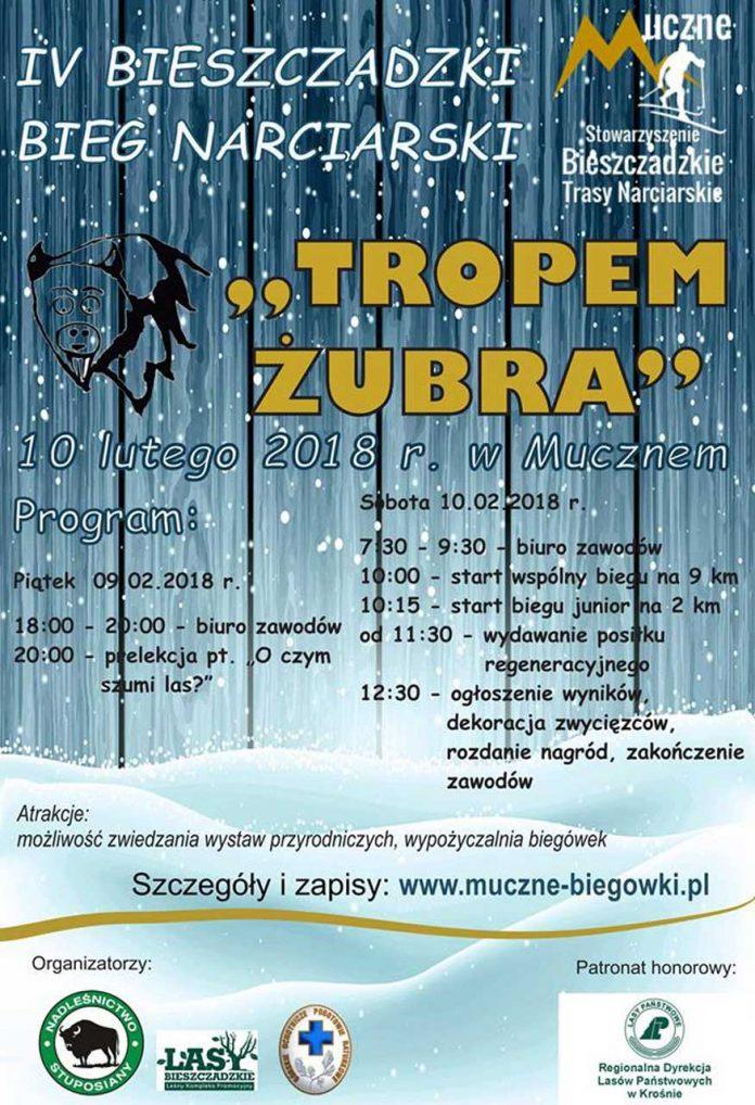 IV edycja biegu Tropem Żubra w Mucznem