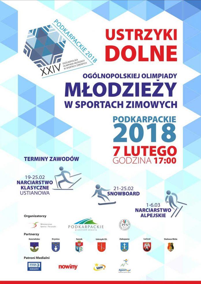 Ogólnopolska Olimpiada Młodzieży w Sportach Zimowych w Ustrzykach Dolnych