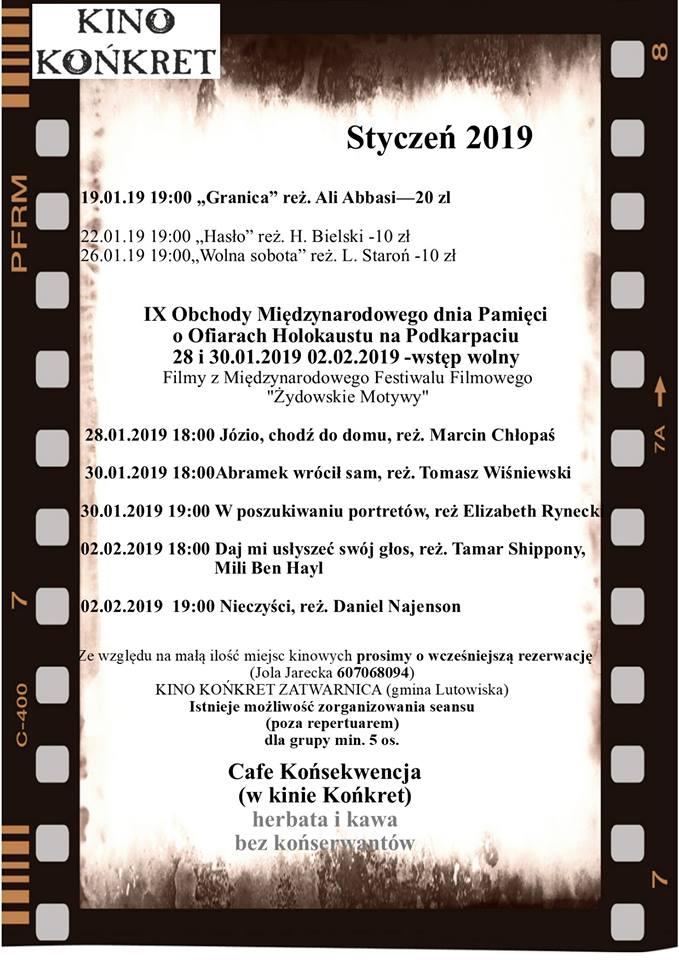 Kino Końkret w Zatwarnicy