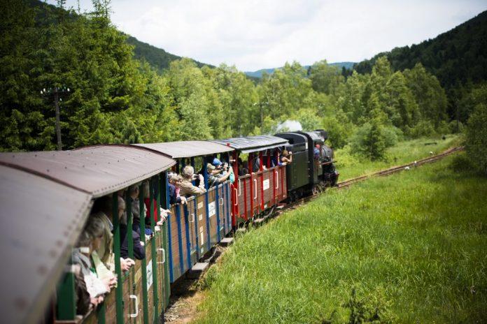 Wiosna z Bieszczadzką Kolejką Leśną / fot. BKL