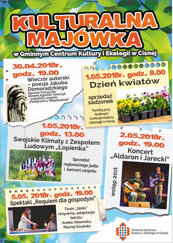 Kulturalna Majówka w Cisnej