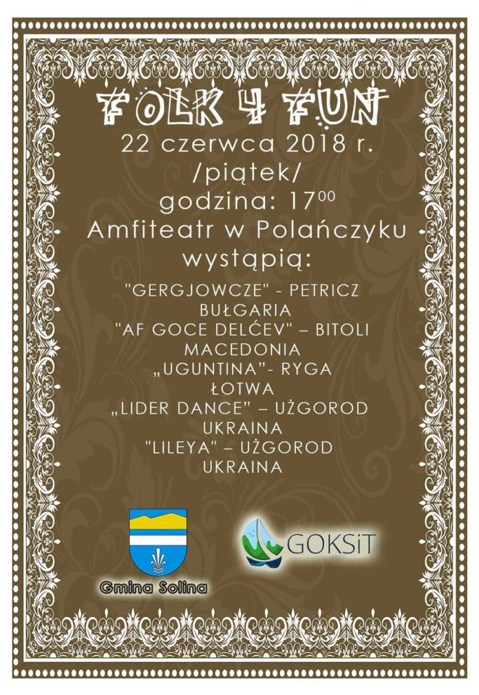 Kolejny Folk 4 Fun w Polańczyku