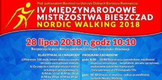 Mistrzostwa Bieszczad w Nordic Walking w Ustrzykach Dolnych