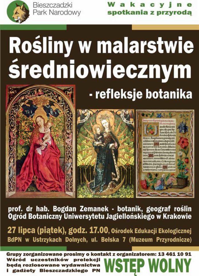 Rośliny w malarstwie średniowiecznym - refleksje botanika