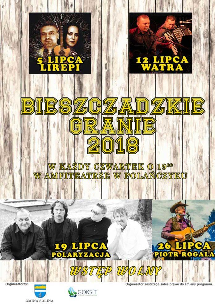 Czwartkowe Bieszczadzkie Granie w Polańczyku