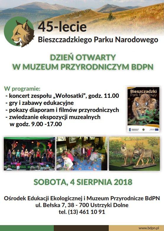 Dzień otwarty w Muzeum Przyrodniczym BdPN