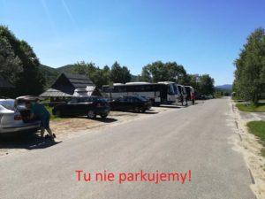 Uwaga na parkowanie w Wołosatem