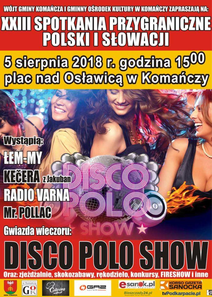 Spotkania Przygraniczne Polski i Słowacji w Komańczy