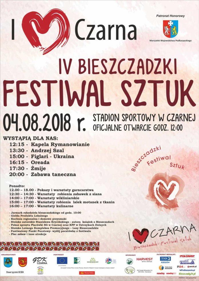 IV Bieszczadzki Festiwal Sztuk w Czarnej
