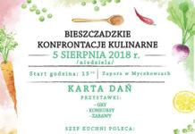 Bieszczadzkie Konfrontacje Kulinarne w Myczkowcach