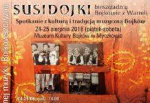 Spotkanie z muzyką Bojków w Muzeum Kultury Bojków w Myczkowie