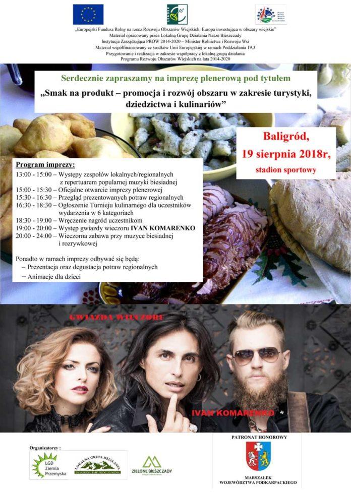 Smak na produkt - promocja i rozwój obszaru w zakresie turystyki, dziedzictwa i kulinariów