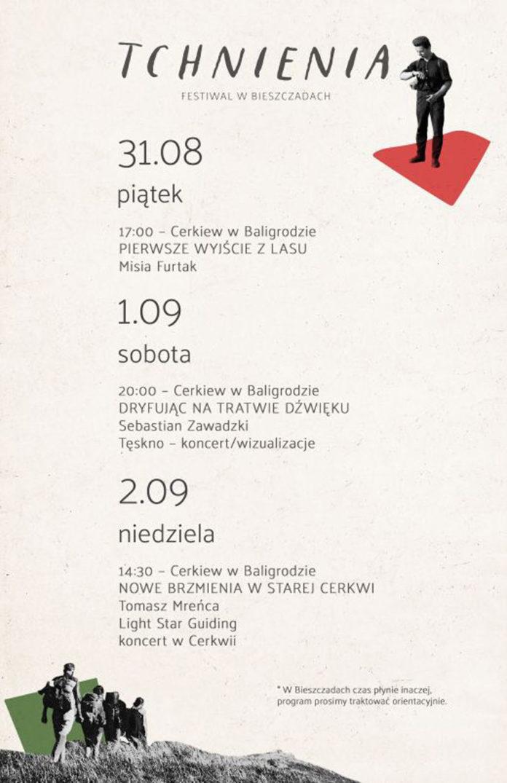 Festiwal Tchnienia w Bieszczadach