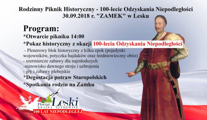 Rodzinny Piknik Historyczny w Lesku