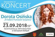 """Koncert Doroty Osińskiej """" W hołdzie Prymasowi Tysiąclecia"""""""