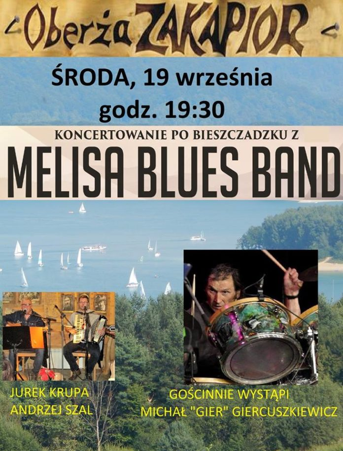 Melisa Blues Band w Zakapiorze w Polańczyku