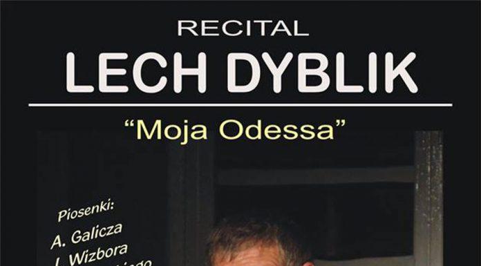 Recital Lecha Dyblika w Oberży Zakapior w Polańczyku