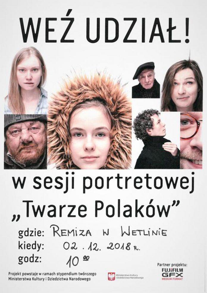 """""""Twarze Polaków- portret społeczeństwa"""" w Wetlinie"""