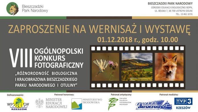 Zaproszenie na wernisaż i wystawę laureatów VIII Ogólnopolskiego Konkursu Fotograficznego