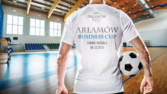 I Charytatywny Turniej ARŁAMÓW BUSINESS CUP w Futsalu