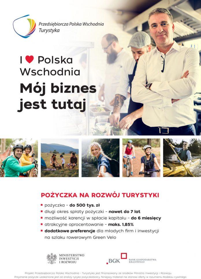 Nowe środki w instrumencie Przedsiębiorcza Polska Wschodnia - Turystyka