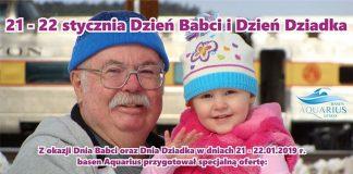 Dzień Babci i Dziadka na basenie Aquarius w Lesku