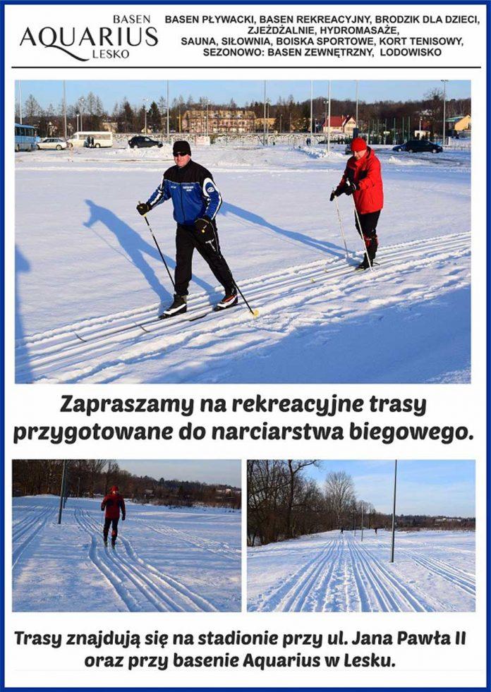 Rekreacyjne trasy do narciarstwa biegowego w Lesku