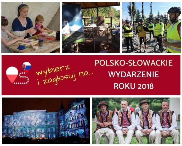 Wybieramy POLSKO-SŁOWACKIE WYDARZENIE ROKU 2018!!!