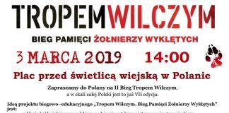 """Bieg Pamięci Żołnierzy Wyklętych """"Tropem wilczym"""" w Polanie"""