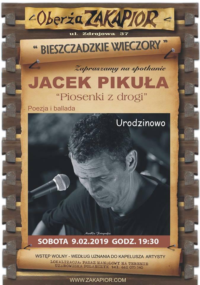 Urodzinowy koncert Jacka Pikuły w Zakapiorze