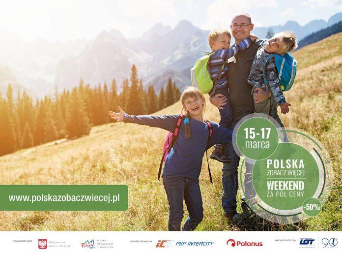 """Ruszyła akcja """"Polska Zobacz Więcej – Weekend Za Pół Ceny"""""""