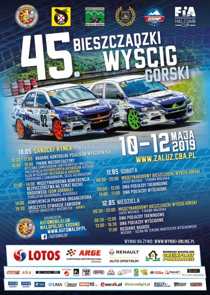 Międzynarodowy Bieszczadzki Piknik Motoryzacyjny i 45. Bieszczadzki Wyścig Górski w Sanoku