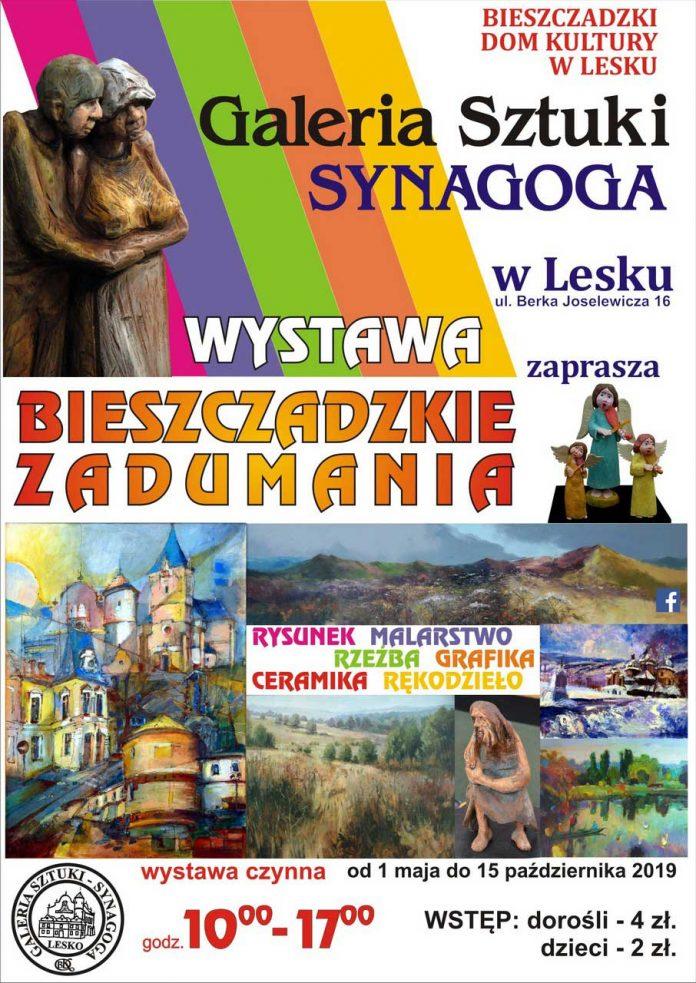 Wystawa Bieszczadzkie Zadumania w Galerii Synagoga w Lesku