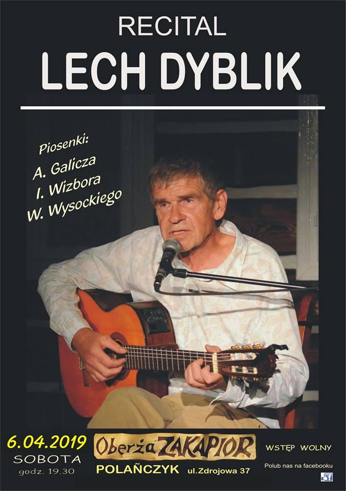 Recital Lecha Dyblika w Oberży Zakapior