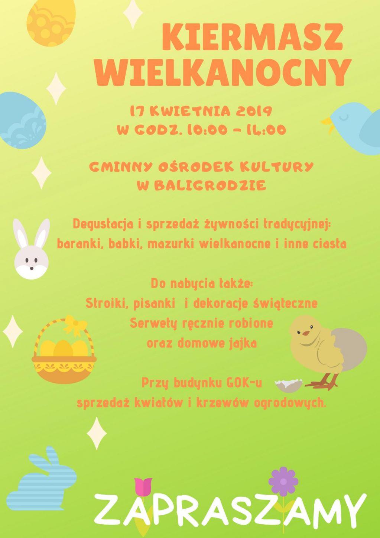 Wielkanocne jarmarki i kiermasze w Bieszczadach